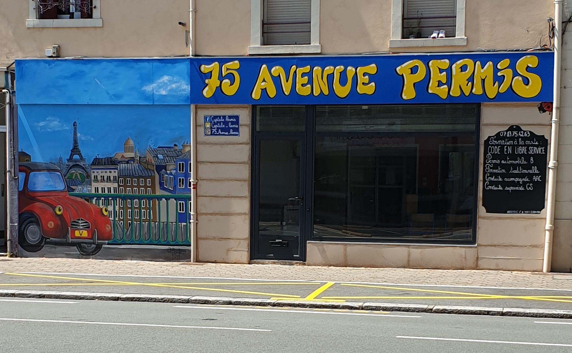 75 avenue permis